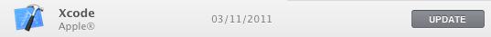 Xcode update